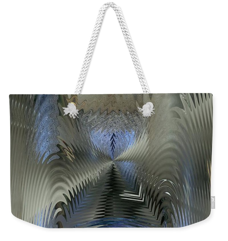 Puddle Weekender Tote Bag featuring the photograph Cause And Effect by Tim Allen