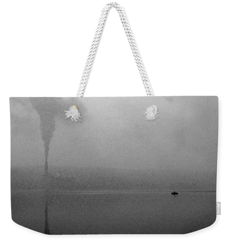 Solitude Weekender Tote Bag featuring the photograph Cayuga Solitude by Jean Macaluso