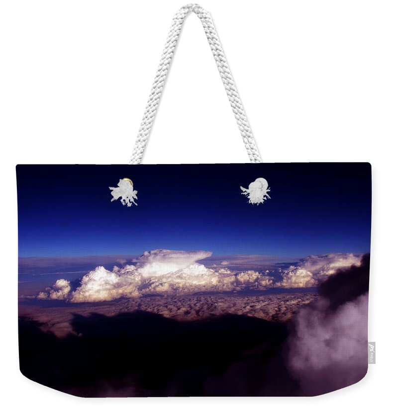 Cloud Photos Weekender Tote Bag featuring the photograph Cb3.46 by Strato ThreeSIXTYFive