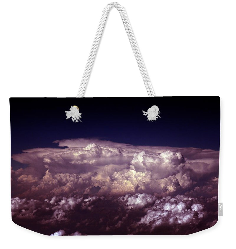 Cloud Photos Weekender Tote Bag featuring the photograph Cb5.866 by Strato ThreeSIXTYFive