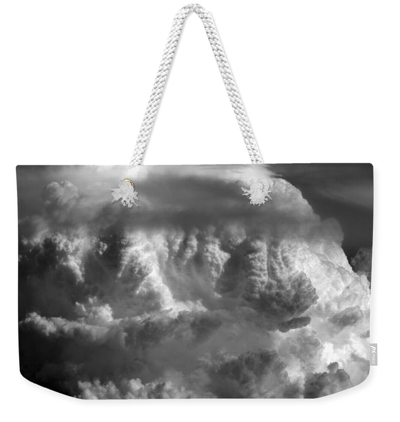 Cloud Photos Weekender Tote Bag featuring the photograph Cb5.878 by Strato ThreeSIXTYFive
