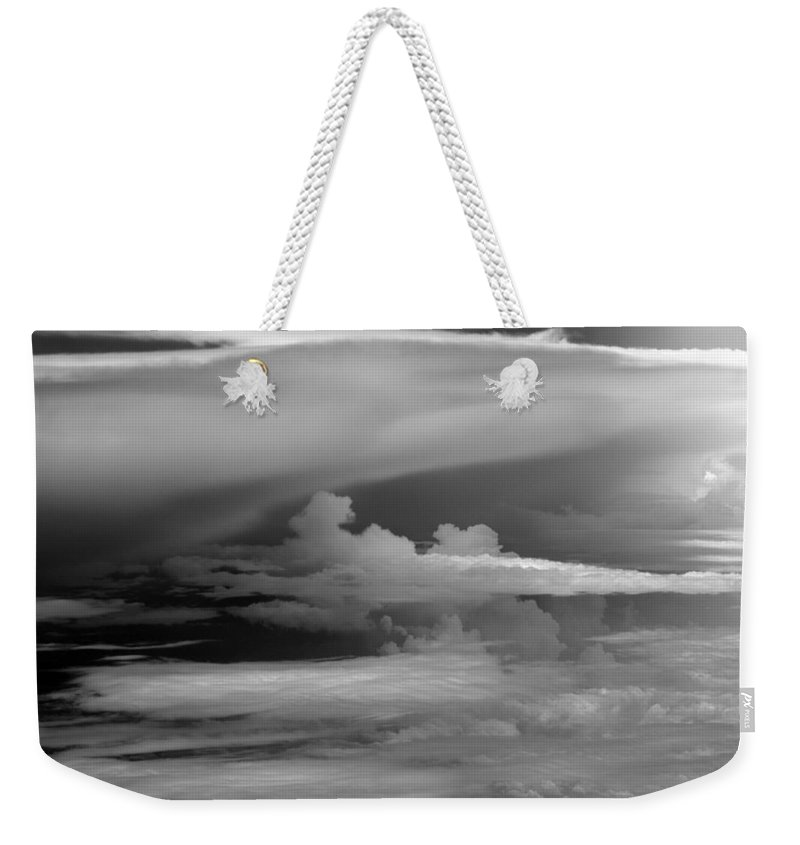 Cloud Photos Weekender Tote Bag featuring the photograph Cb6.218 by Strato ThreeSIXTYFive