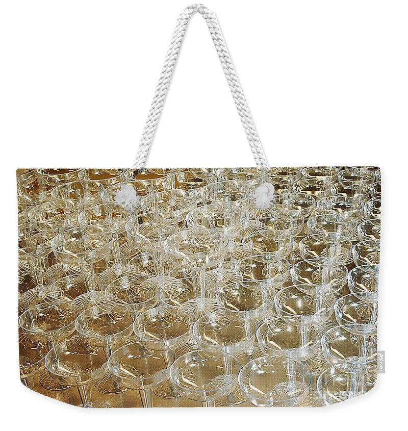 Clay Weekender Tote Bag featuring the photograph Celebration by Clayton Bruster