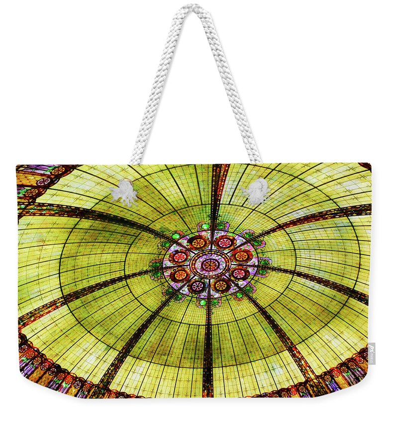 Vegas Weekender Tote Bag featuring the photograph Celebration Of Glass by JAMART Photography
