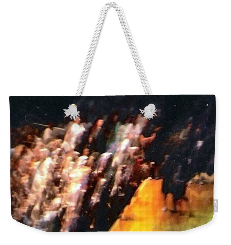 Surreal Weekender Tote Bag featuring the photograph Celestial Applause by Pharris Art