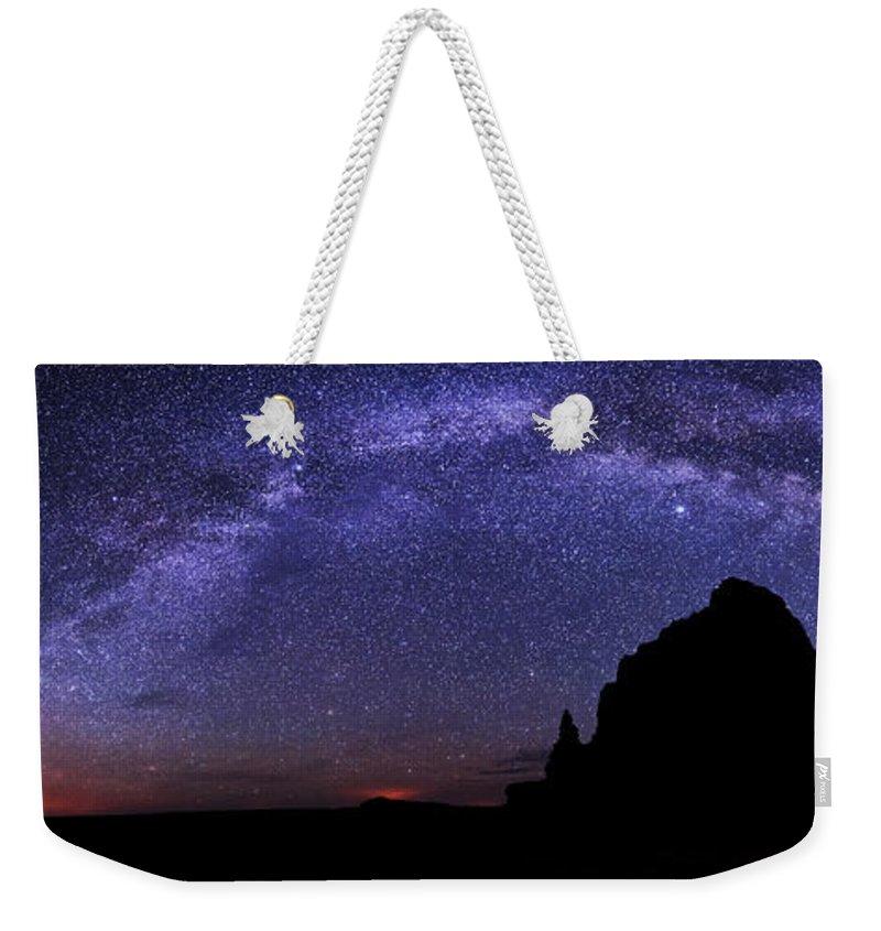 Celestial Weekender Tote Bags