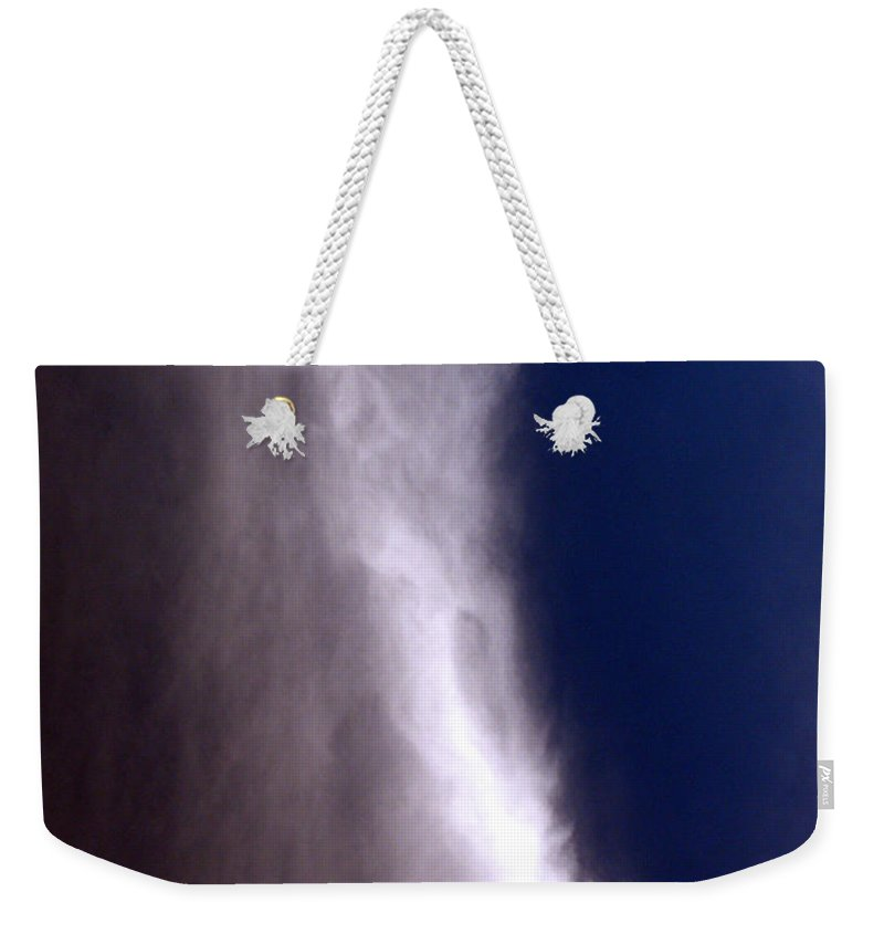 Angels Weekender Tote Bag featuring the photograph Celestial Falls by Albert Stewart