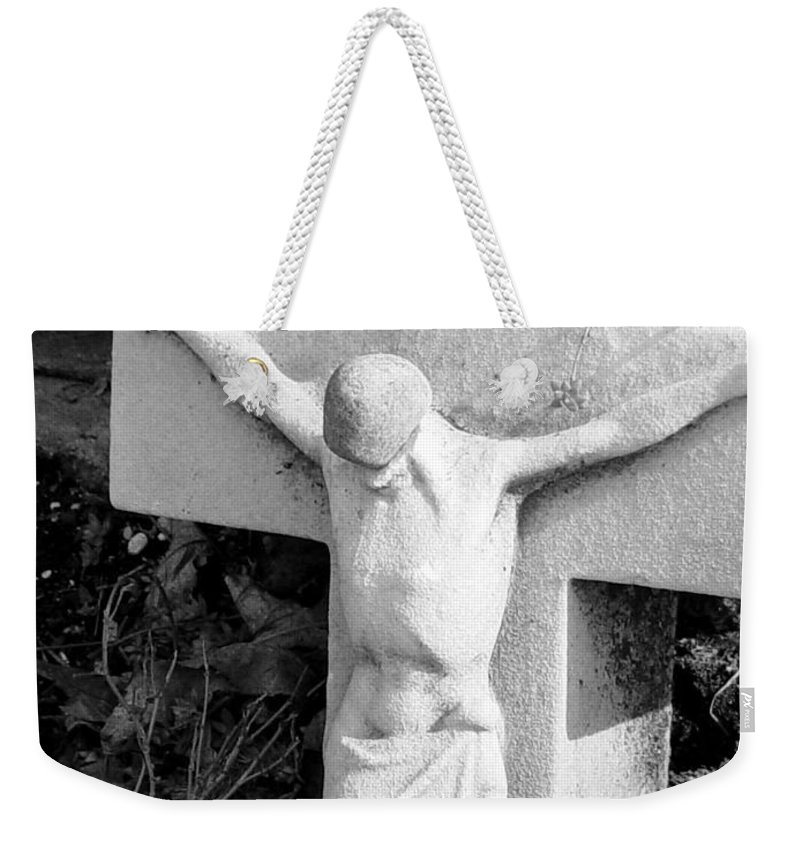 Cemetery Weekender Tote Bag featuring the photograph Cemetery 2 by Anita Burgermeister