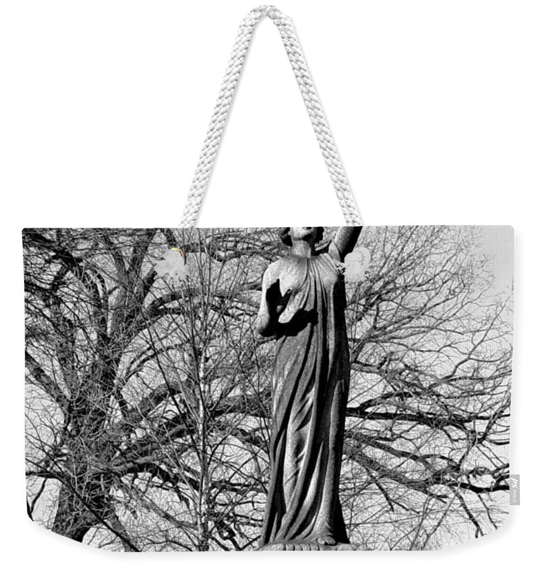 Cemetery Weekender Tote Bag featuring the photograph Cemetery 6 by Anita Burgermeister