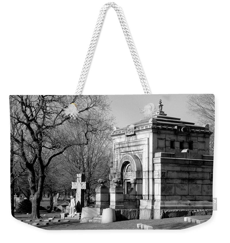 Cemetery Weekender Tote Bag featuring the photograph Cemetery 8 by Anita Burgermeister