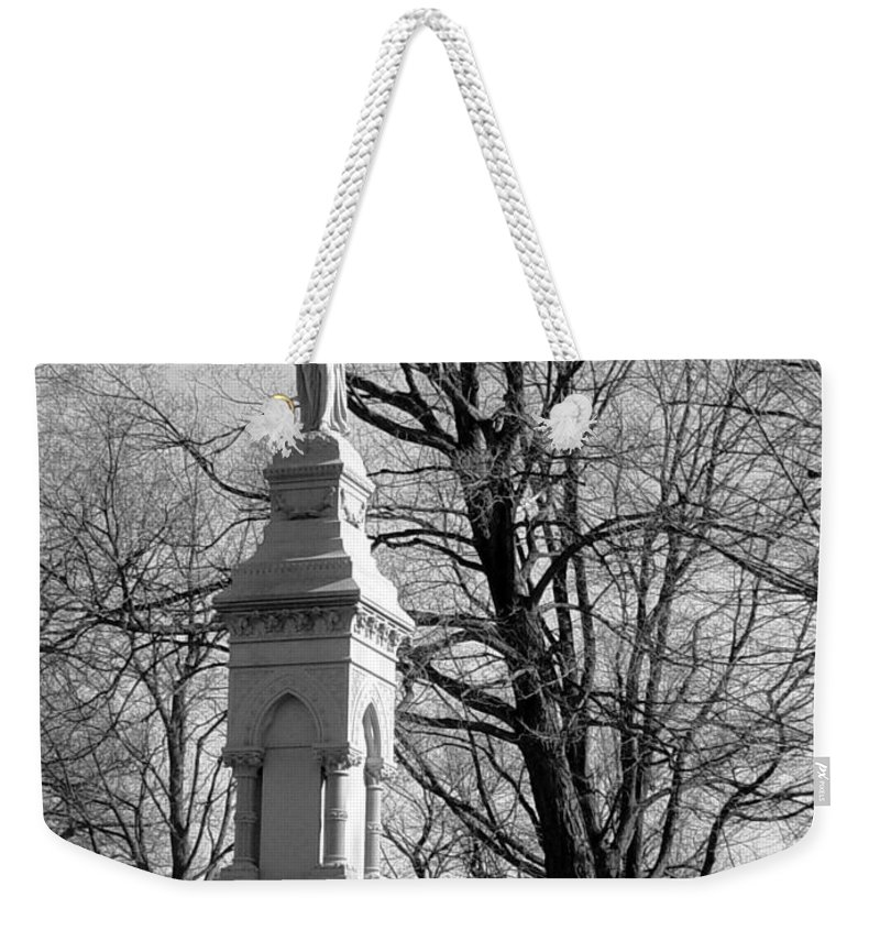 Cemetery Weekender Tote Bag featuring the photograph Cemetery 9 by Anita Burgermeister