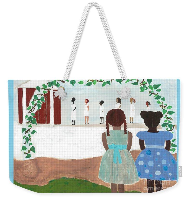 Sister Weekender Tote Bags