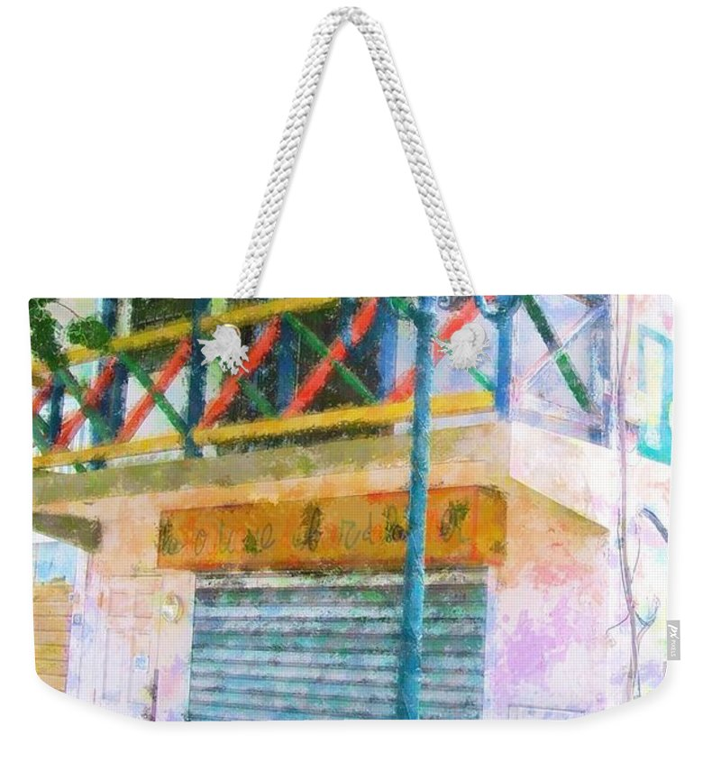 St. Martin Weekender Tote Bag featuring the photograph Cest La Vie by Debbi Granruth