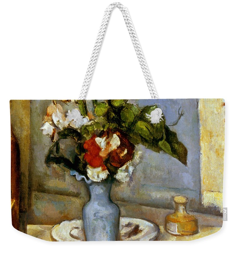Cezanne Blue Vase 1885 87 Weekender Tote Bag For Sale By Granger