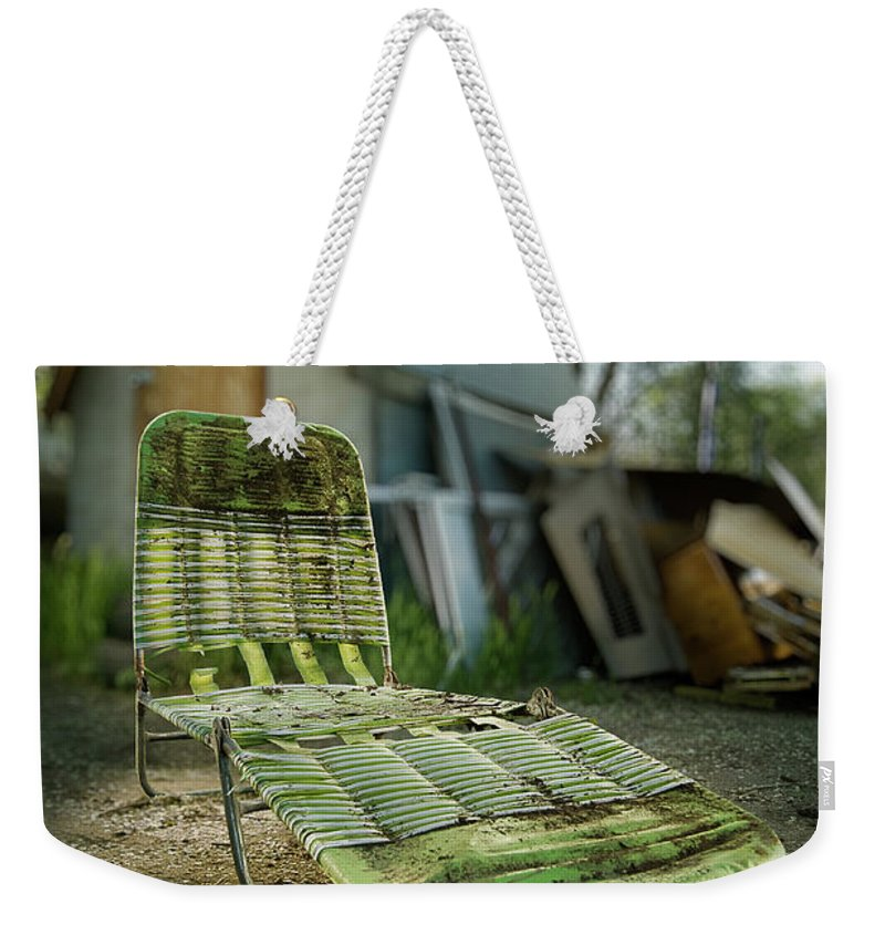 Classic Weekender Tote Bag featuring the photograph Chaise Lounge by Yo Pedro