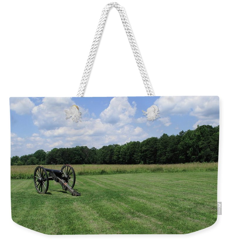 American Weekender Tote Bag featuring the photograph Chancellorsville Battlefield 2 by Frank Romeo