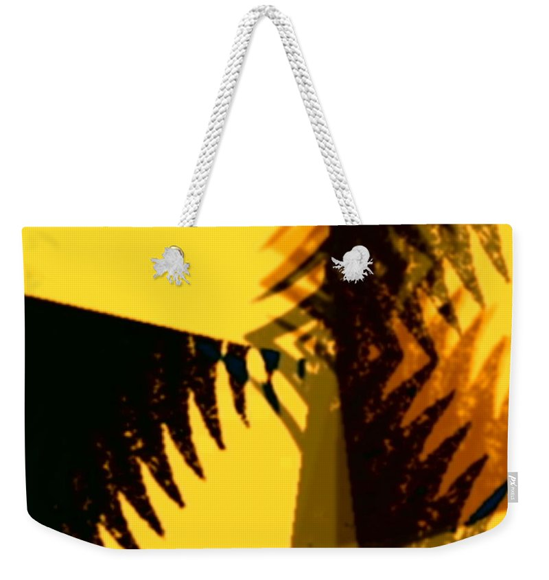 Art Digital Art Weekender Tote Bag featuring the digital art Change - Leaf11 by Alex Porter