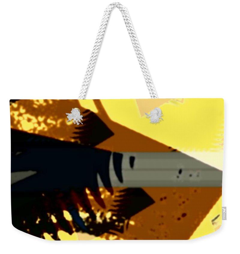 Art Digital Art Weekender Tote Bag featuring the digital art Change - Leaf14 by Alex Porter