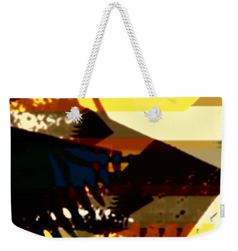 Art Digital Art Weekender Tote Bag featuring the digital art Change - Leaf15 by Alex Porter