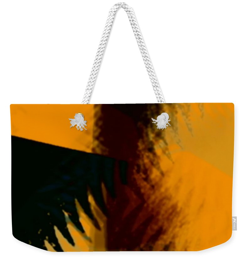 Art Digital Art Weekender Tote Bag featuring the digital art Change - Leaf6 by Alex Porter