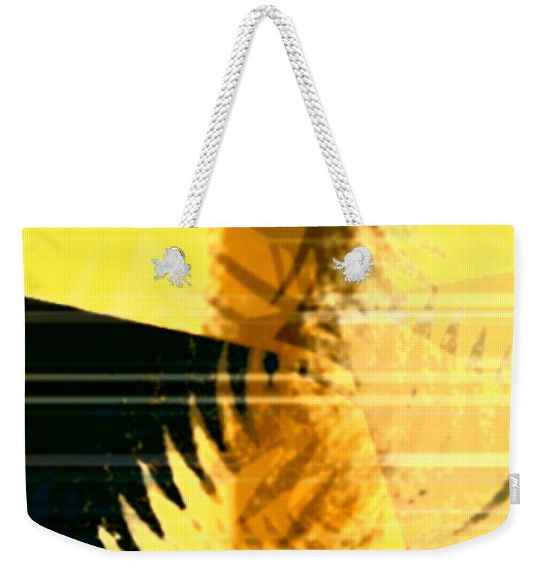 Art Digital Art Weekender Tote Bag featuring the digital art Change - Leaf8 by Alex Porter
