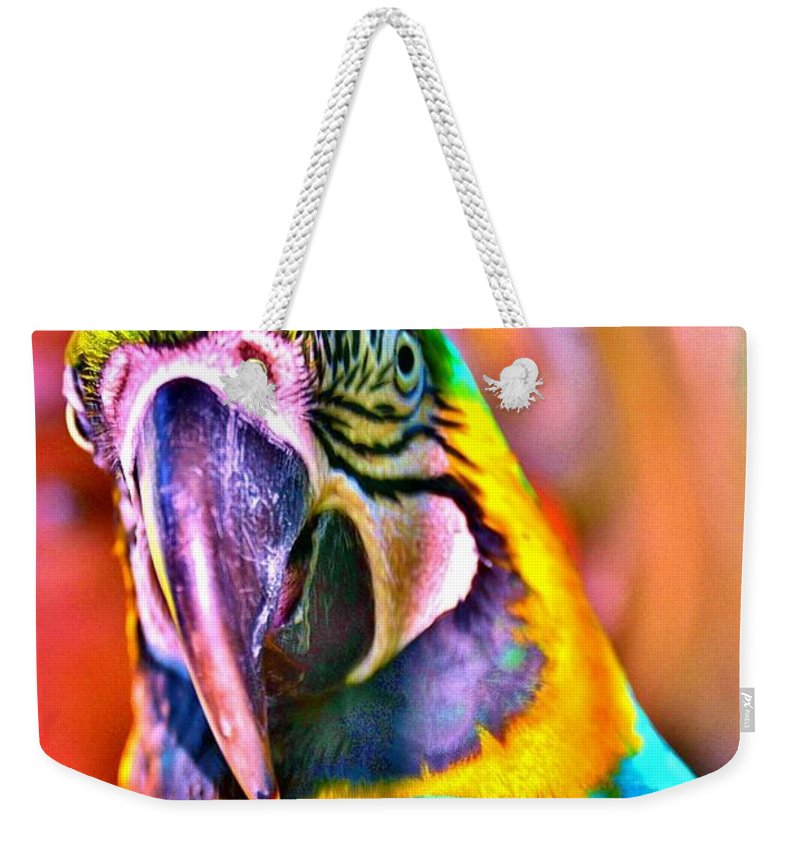 Change Weekender Tote Bag featuring the photograph Change by Lisa Renee Ludlum