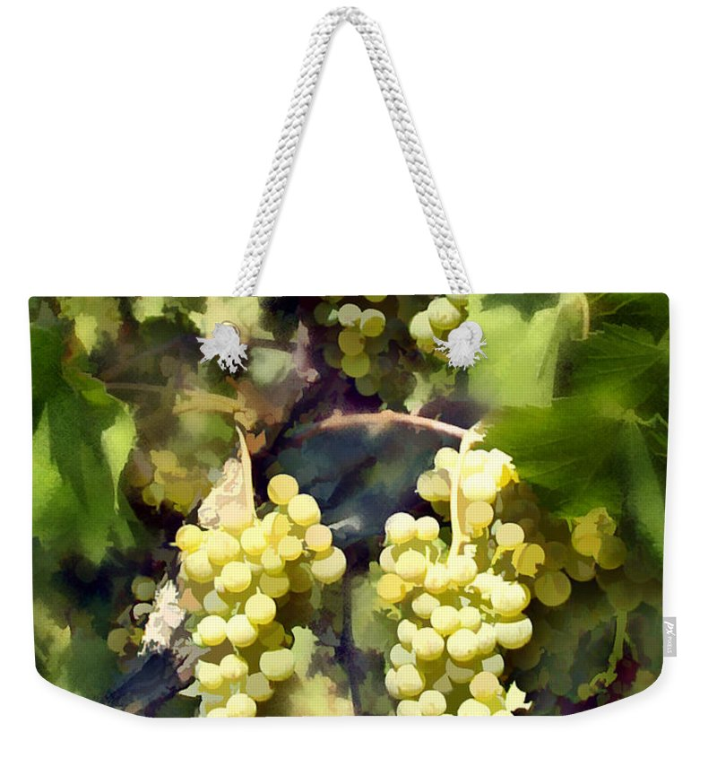 Chardonnay Weekender Tote Bag featuring the photograph Chardonnay by Kurt Van Wagner