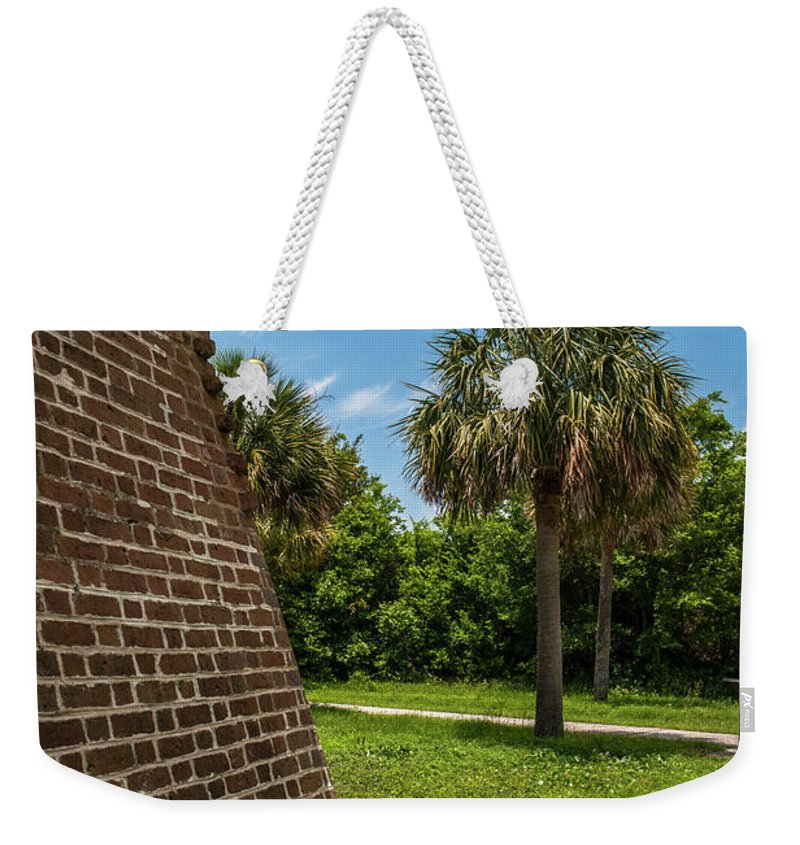 Fort Weekender Tote Bag featuring the photograph Charleston Fortification by Dale Powell