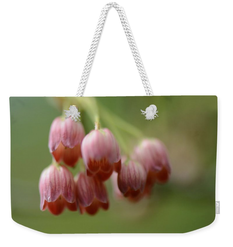 Enkianthus Campanulatus Weekender Tote Bag featuring the photograph Charming Bells by Lena Photo Art