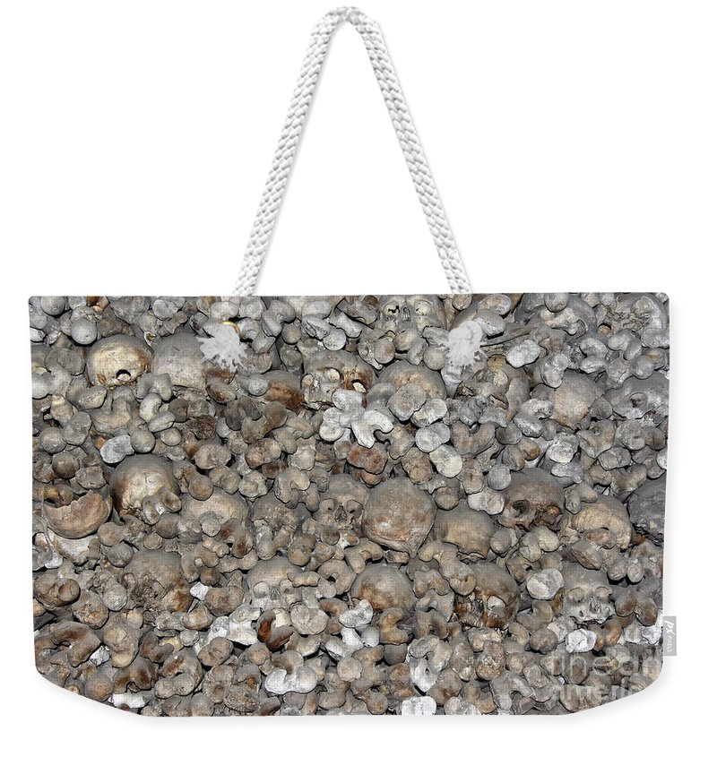 Charnel House Weekender Tote Bag featuring the photograph Charnel House by Michal Boubin