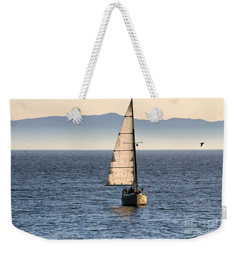 Clay Weekender Tote Bag featuring the photograph Chasing The Mist by Clayton Bruster