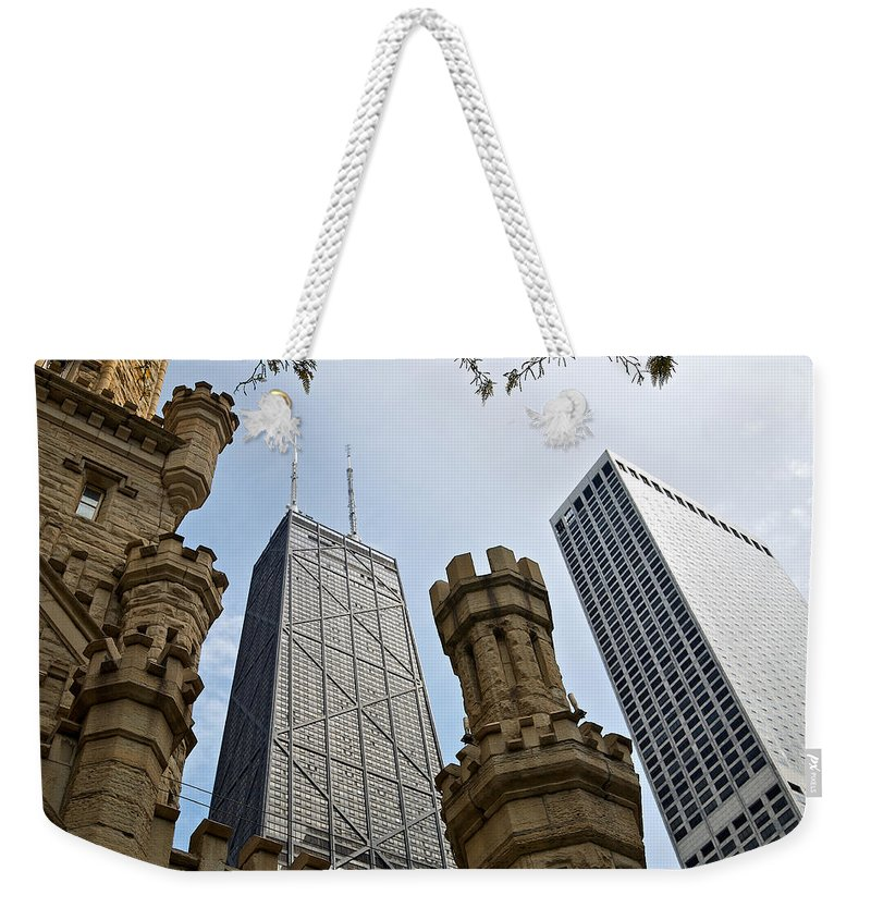 Lawrence Weekender Tote Bag featuring the photograph Checkmate by Lawrence Boothby