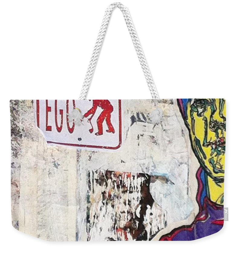 Street Art Weekender Tote Bag featuring the photograph Chelsea by Cherylene Henderson