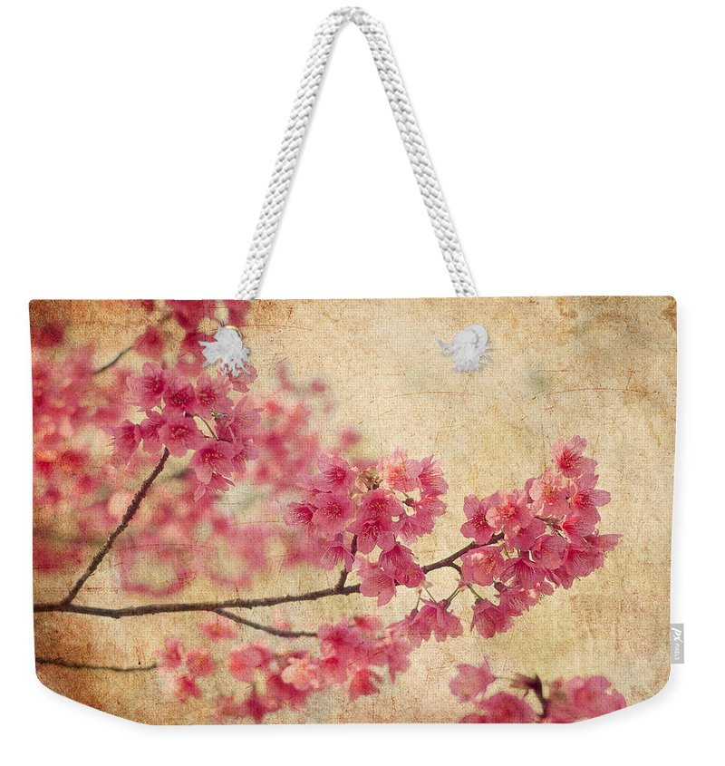 Blossoms Weekender Tote Bags