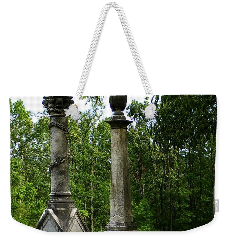 Landscape Weekender Tote Bag featuring the photograph Chess Game by Rachel Christine Nowicki