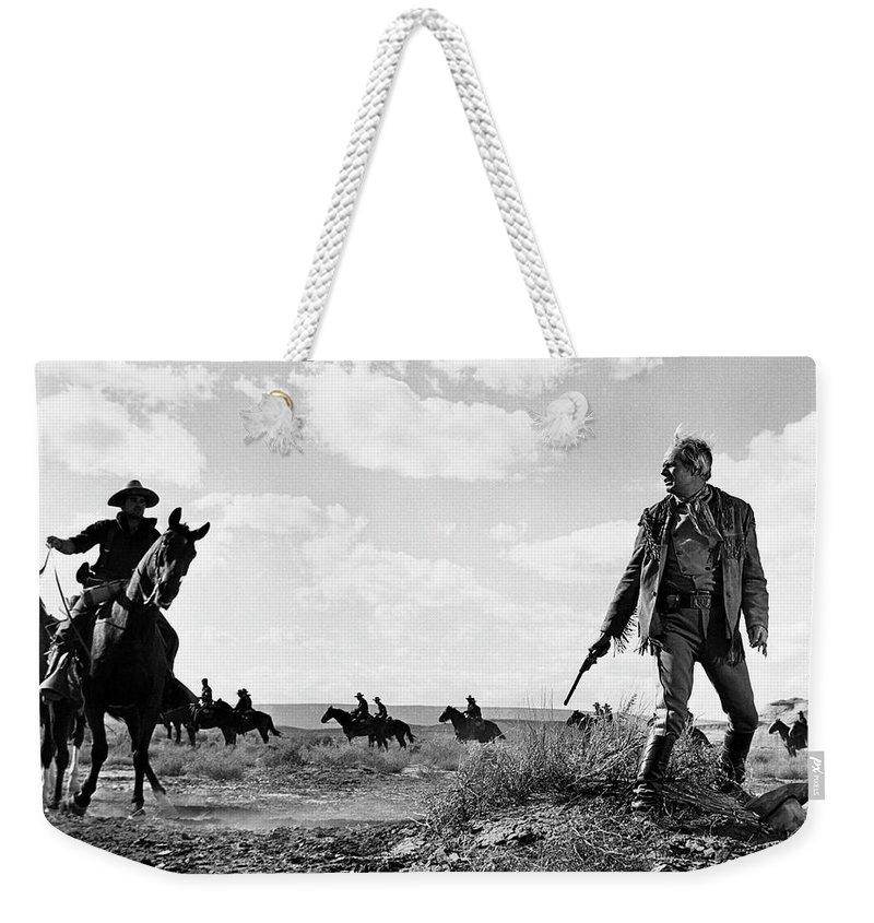 Arizona Weekender Tote Bag featuring the photograph Cheyenne 3 by Bob Bradshaw