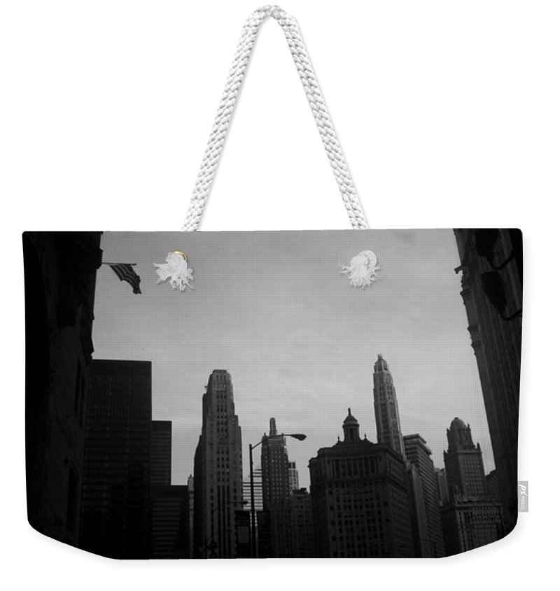 Weekender Tote Bag featuring the photograph Chicago 3 by Samantha L