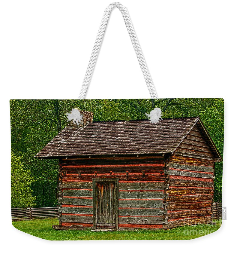 Tags Weekender Tote Bag featuring the photograph Chickamauga No 4 by Alan Look