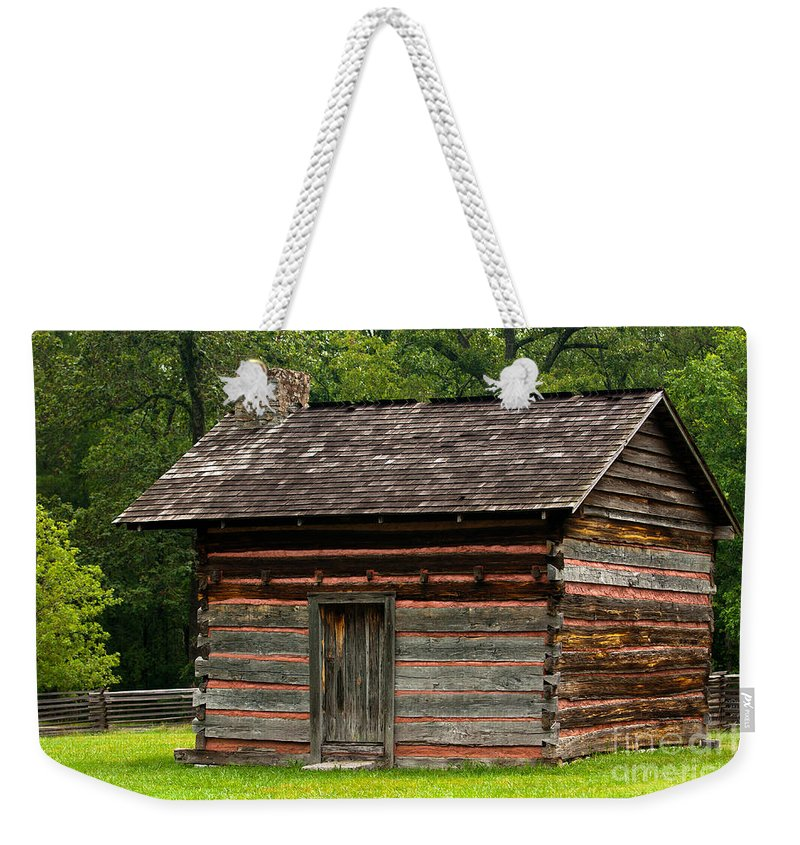 Tags Weekender Tote Bag featuring the photograph Chickamauga No 5 by Alan Look