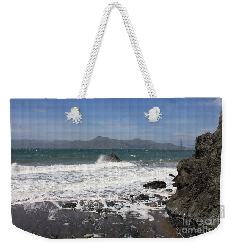 Weekender Tote Bag featuring the photograph China Beach by Carol Groenen