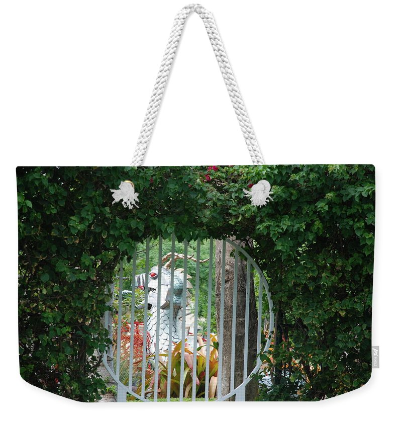 Chinese Dragon Weekender Tote Bag featuring the photograph Chinese Dragon by Rob Hans