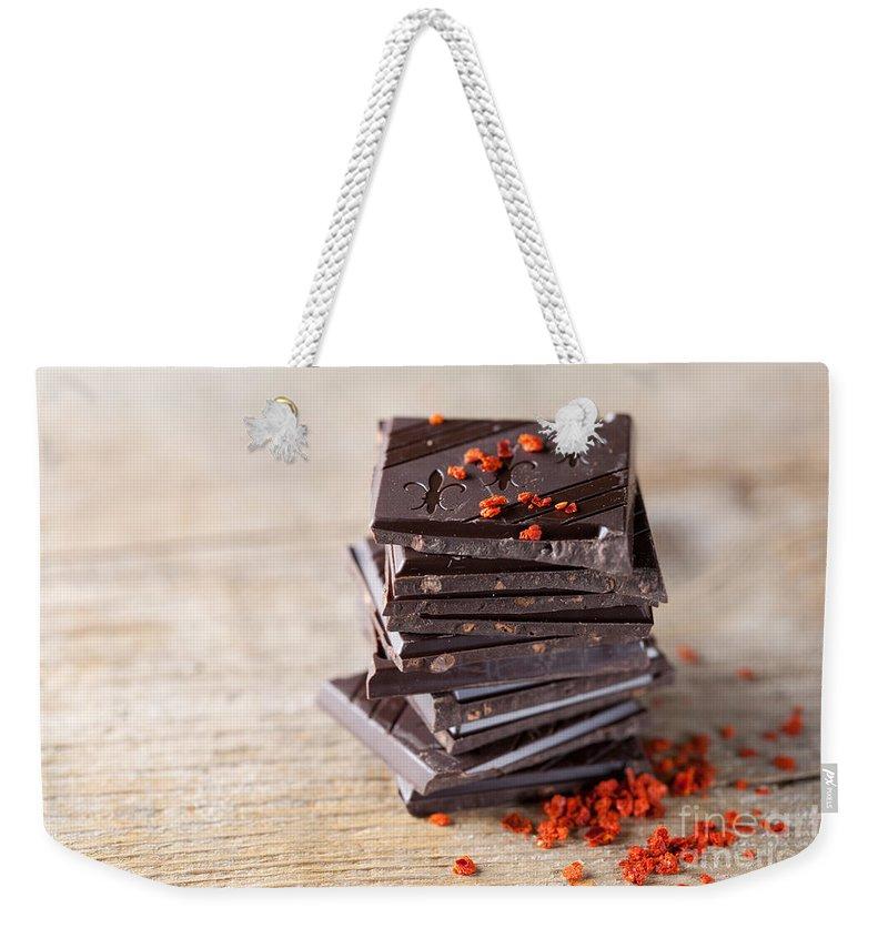 Nutritious Photographs Weekender Tote Bags