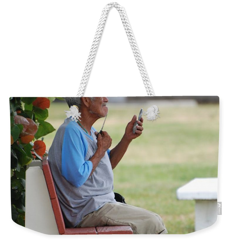 Homeless Weekender Tote Bag featuring the photograph Choice Of A New Generation by Rob Hans