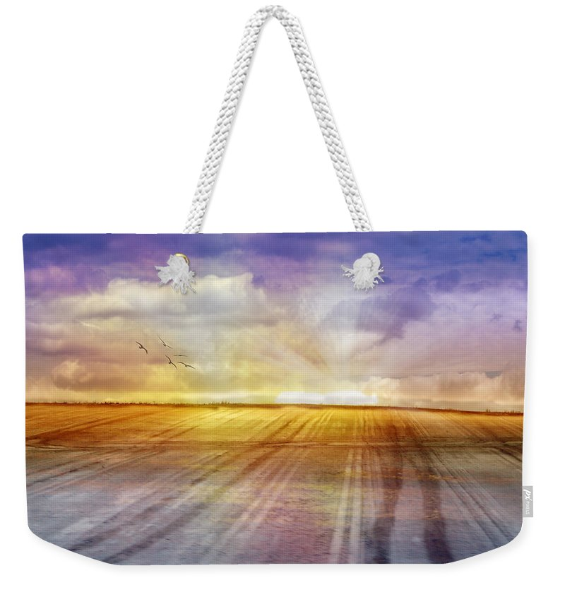 Landscapes Weekender Tote Bag featuring the photograph Choices by Holly Kempe