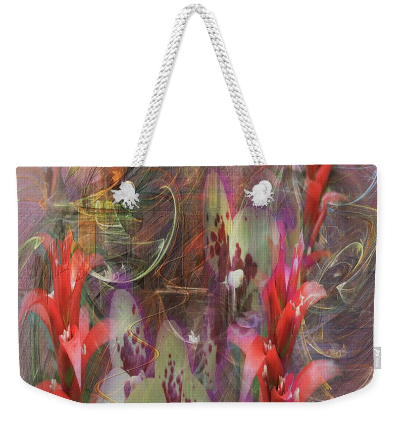 Chosen Ones Weekender Tote Bag featuring the digital art Chosen Ones by John Beck