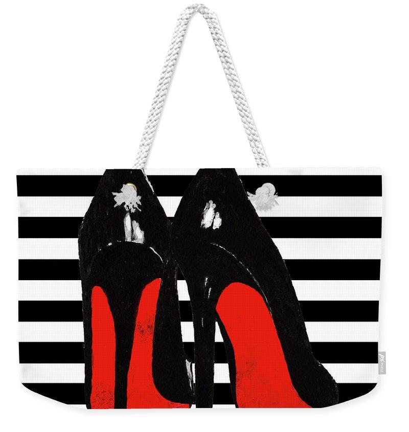 db0cc035332 Christian Louboutin Shoes Black Weekender Tote Bag