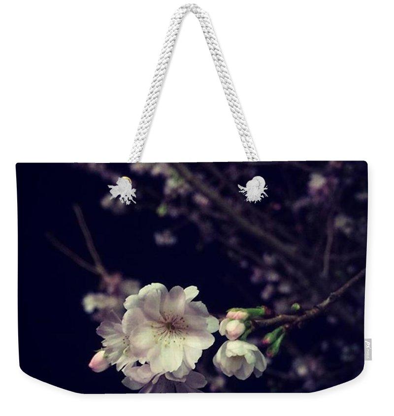 Cherryblossom Weekender Tote Bags