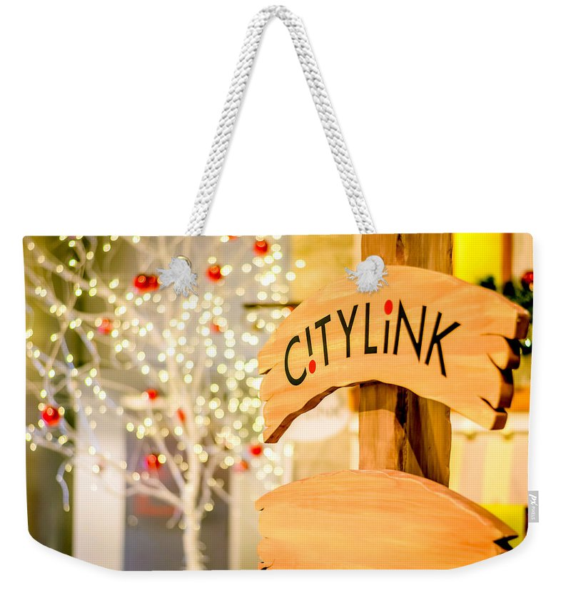 Christmas Weekender Tote Bag featuring the photograph Christmas Decorations 4 by Jijo George
