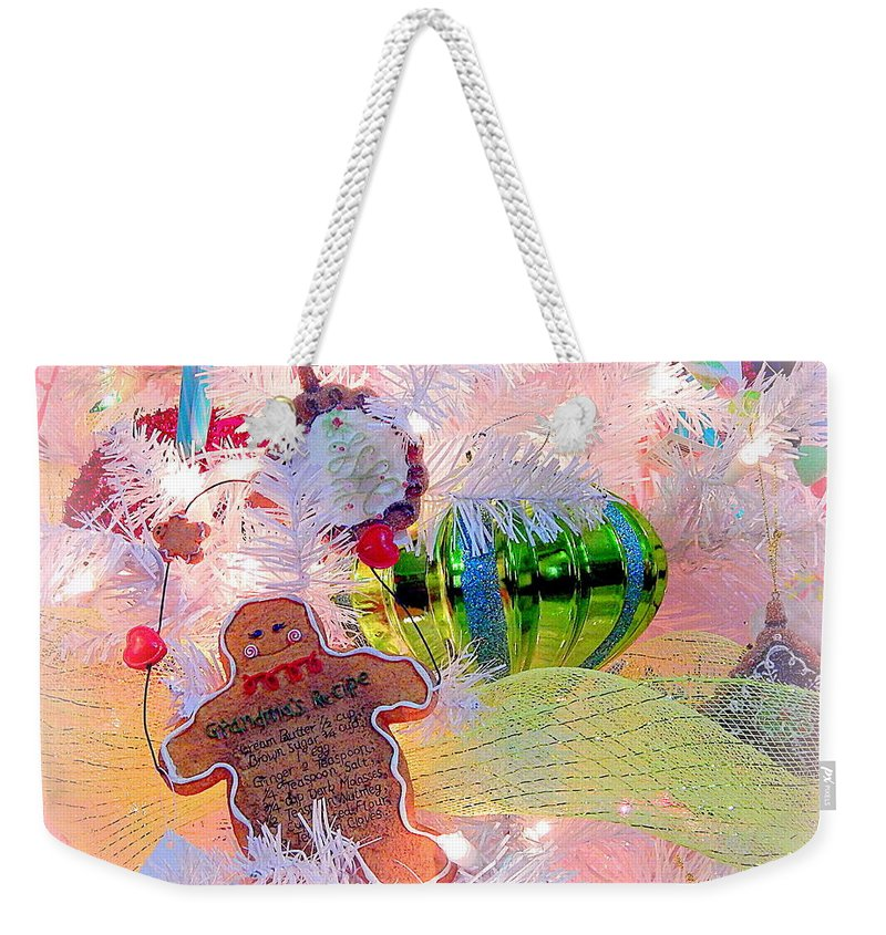 Christmas Dreams Weekender Tote Bag featuring the photograph Christmas Dreams by Karen Cook