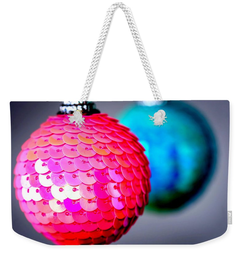 Backdrop Weekender Tote Bag featuring the photograph Christmas Time 2 by Jijo George